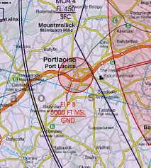 Ireland Wallchart Icao Vfr Aeronautical Chart 500k 2019
