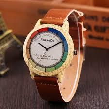 wrist watch man wood