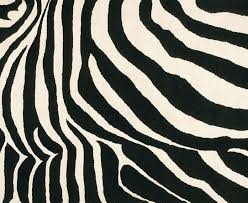 modern rug patterns. Black And White Zebra Rug Modern Patterns ,
