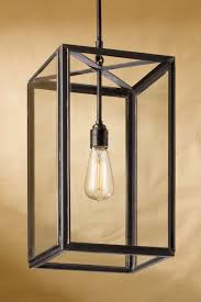 ilford antique bronze and clear glass pendant nautic by tekna