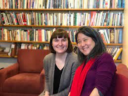 Nancy Cho and Anne Hackman '19 ...