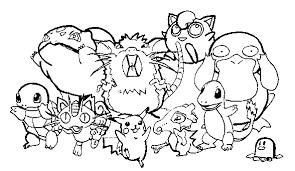 Pokemon Kleurplaten Black En White