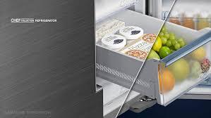 samsung refrigerator drawer. Fine Samsung Samsung Chef Collection On Refrigerator Drawer N