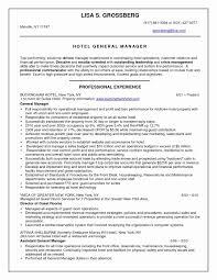 50 Beautiful Hospitality Sample Resume Resume Writing Tips