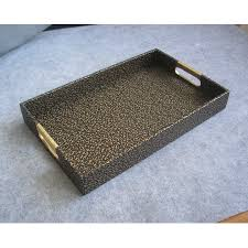 Decorative Serving Trays With Handles 100x100cm rectangle leather serving storage decorative tray fruit food 43