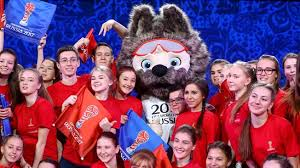 2018 bmw volunteers. brilliant 2018 volunteers volunters pose with zabivaka the official mascot for 2018  fifa world cup inside bmw volunteers