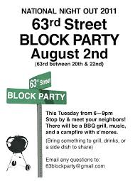 Block Letter Sample Block Party Invitation Template Free Flyer The Letter Sample