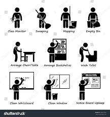 classroom whiteboard clipart. classroom student duty roster stick figure pictogram icon clipart whiteboard i