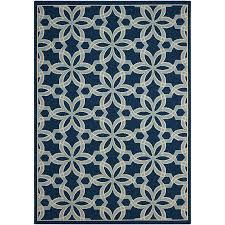 caribbean navy star indoor outdoor area rug 5