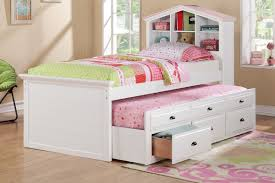 Kids Furniture marvellous girls trundle beds Full Size Trundle