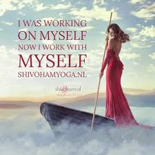 Healing Inspirational Quotes New I Was Working On Myself Now I Work With Myself ♡ Httpwww