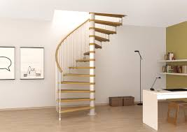 space saving spiral staircase type toscana