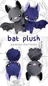Plush Pattern Extraordinary Bat Plush Pattern By SewDesuNe On DeviantArt