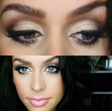 carli bybel prom makeup look 2016 s used laura mercier concealer as eyeshadow base