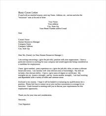 Simple Cover Letter Resume 2018