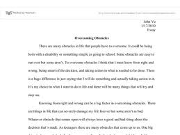 overcoming challenges essay overcoming obstacles essay nirop essay on an obstacle to overcome writefiction581webfc2com