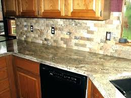Paint Backsplash Mesmerizing Fake Brick Backsplash Painting Fake Brick Backsplash