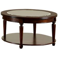 furniture of america granvia dark cherry coffee table