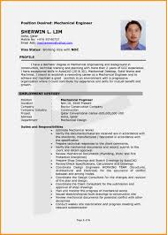 Mechanical Engineering Resume Templates Resume Samples Of Mechanical Engineer Therpgmovie 10