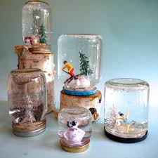 Cute Jar Decorating Ideas DIY Mason Jar Snow Globes EHow 96
