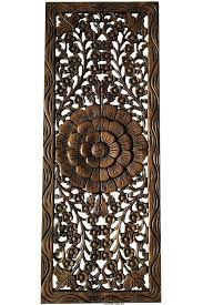 wooden carved wall hangings fl jasmine wood carved wall panel wall hanging wall art relief panel sculpture white carved wood wall art uk