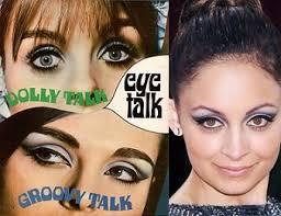 60s makeup tutorial mod inspired look