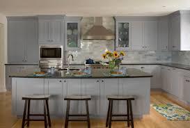 Grey Shaker Ready To Assemble Kitchen Cabinets Standard Kitchen