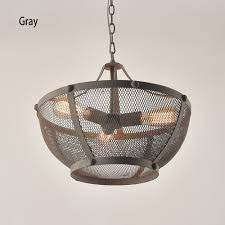 Mesh Pendant Light Details About Industrial Loft Iron Wire Mesh Shade Pendant Light With Rustic Bowl Type Ceiling