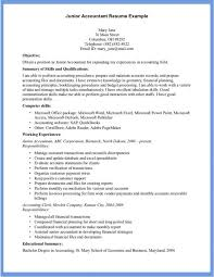 college objective for accountant resume archaiccomely sample resume for accountant