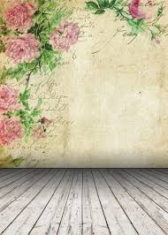 Photography backdrops HUAYI Vintage Gray Wood Floor Backdrop Flower  Background Art Fabric Newborn Backdrop D2257-in Background from Consumer  Electronics on ...