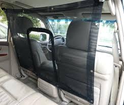 backseat pet barrier car seat mesh net pet barrier x kurgo backseat dog barrier
