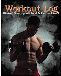 Buy Workout Diary With Food Exercise Journal Log Perfect
