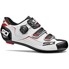 Sidi Alba Road Shoe White Black Red