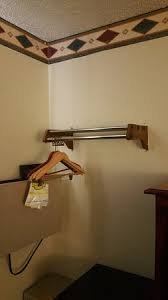 Gun Coat Rack The coat rack and outdated wallpaper border Picture of Super 100 93