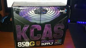 Взрывной <b>AeroCool</b> 850W <b>KCAS</b>-<b>850G</b> - YouTube
