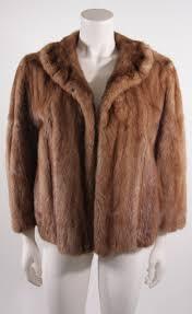 brown dior for holt renfrew mink stroller coat with bracelet length sleeves for