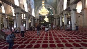 المسجد الأقصى من الداخل - YouTube