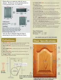 Kitchen Cabinet Drawer Fronts Measuring Installing Your Cabinet Doors Eclectic Ware