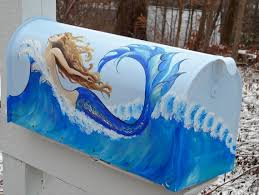hand painted mailbox designs. Hand Painted Mailbox. OMG! I Need To Find Someone Who Can Paint This For Mailbox Designs N