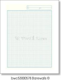 Engineering Graph Paper Printable Graph Paper Vector Art Print