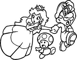Kleurplaat Mario Run