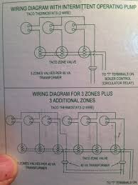 run a c wire to 2 on a taco valve? other location? heating help Taco Circulator Wiring Diagram image jpeg 119 7k taco 007 circulator pump wiring diagram