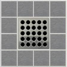 new ebbe pro e4404 square shower drain grate grate puller brushed nickel