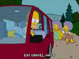 car driving away gif. Brilliant Away Driving Away Homer Simpson GIF Throughout Car Gif A