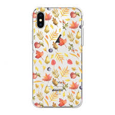 Amzer Designer Case Amzer Designer Slim Tpu X Protection Soft Gel Case Protective Back Cover Skin For Apple Iphone Xs Max Colors Of Autumn Clear
