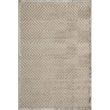 momeni platinum taupe rectangular 2 ft x 3 ft rug