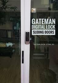 gateman j20 ih digital lock for sliding door and sliding aluminium doors