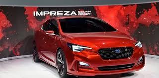 subaru new models 2018. fine new 2018 subaru impreza g4 redesign model and subaru new models