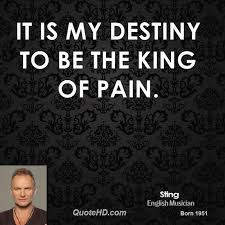 Destiny Quotes Delectable Sting Quotes QuoteHD