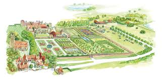 Small Picture Interactive Garden Map Penshurst Place UK Pinterest Garden